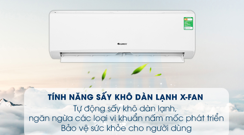 Chế độ X-Fan sấy khô dàn lạnh