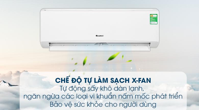 Chế độ làm sạch X-Fan