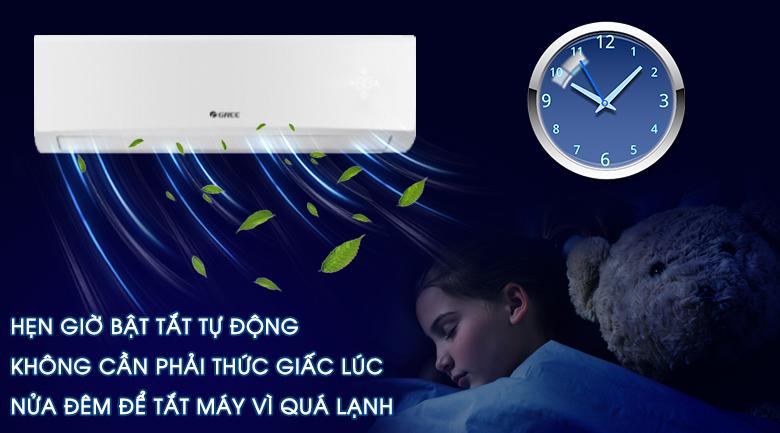 Hẹn giờ-Máy lạnh Gree 1 HP GWC09KB-K6N0C4