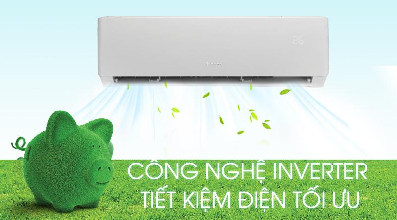 Máy lạnh Gree Inverter 1.5 HP GWC12PB-K3D0P4-Tiết kiệm điện hiệu quả bởi công nghệ Inverter