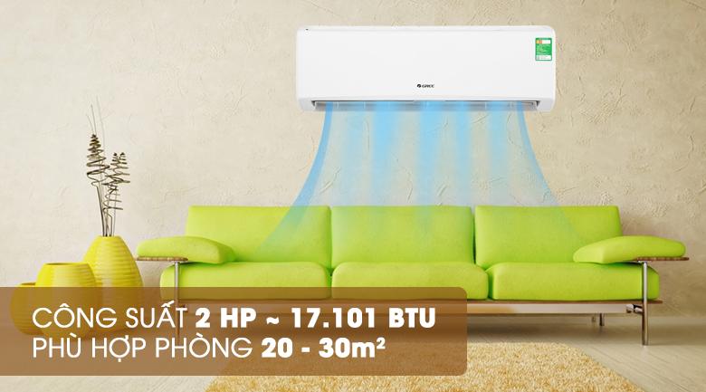 Thiết kế - Máy lạnh Gree 2 HP GWC18KD-K6N0C4