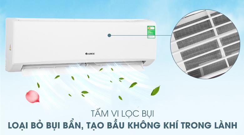 Tấm vi lọc bụi-Máy lạnh Gree 2 HP GWC18KD-K6N0C4