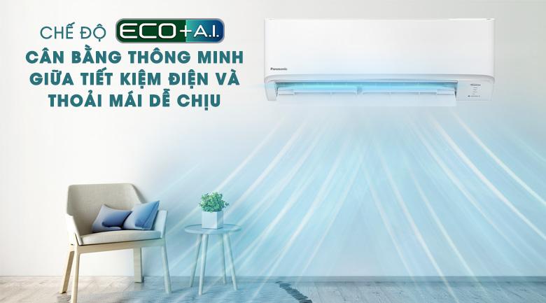 Chế độ tiết kiệm điện: ECO tích hợp A.I