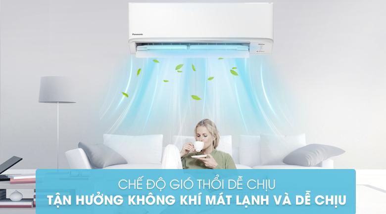 Máy lạnh 2 chiều Panasonic Inverter có chế độ thổi gió làm mát