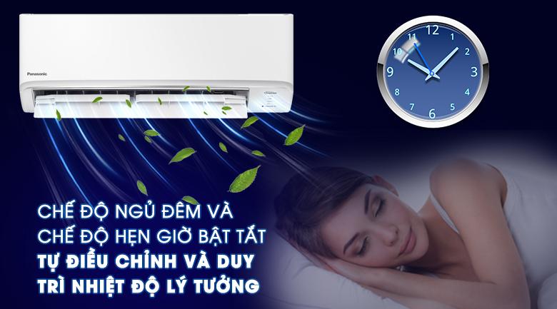 Chế độ hẹn giờ bật tắt và chế độ ngủ đêm