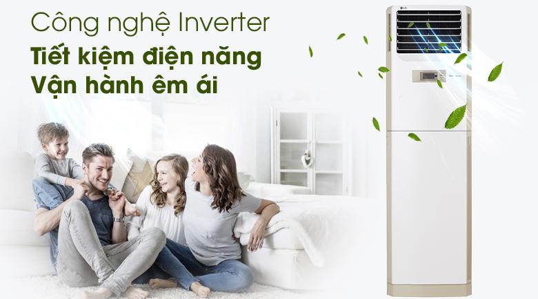 Máy lạnh Tủ đứng LG Inverter 2.5 HP APNQ24GS1A4 - Inverter