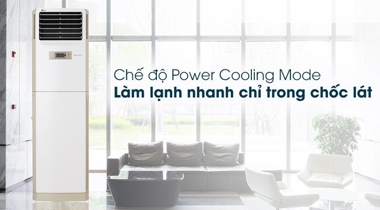 Máy lạnh Tủ đứng LG Inverter 2.5 HP APNQ24GS1A4 - Power Cooling Mode