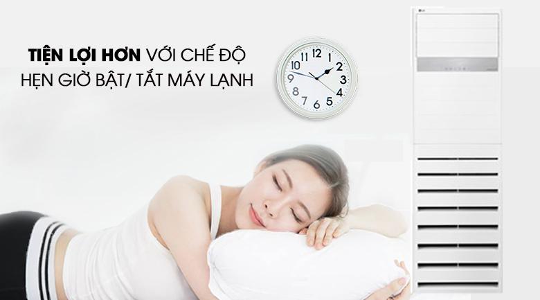 Hẹn giờ bật/ tắt linh hoạt, tiện lợi