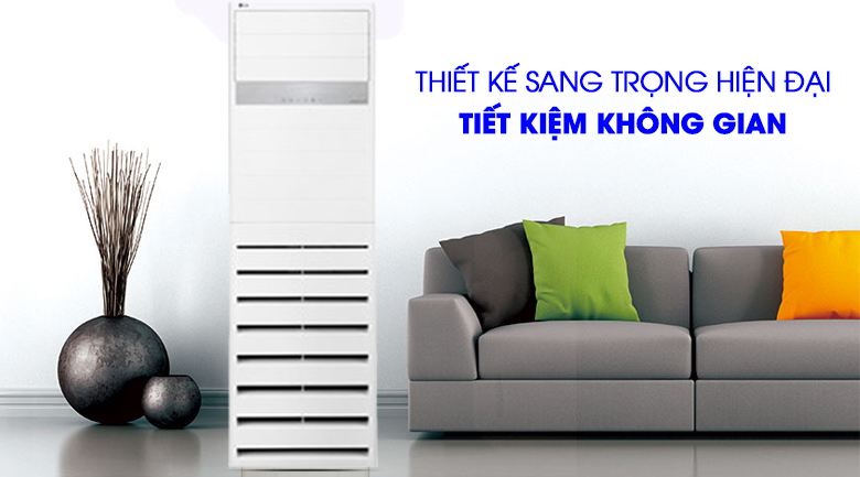 Thiết kế sang trọng của máy lạnh Tủ đứng LG Inverter 3 HP APNQ30GR5A4