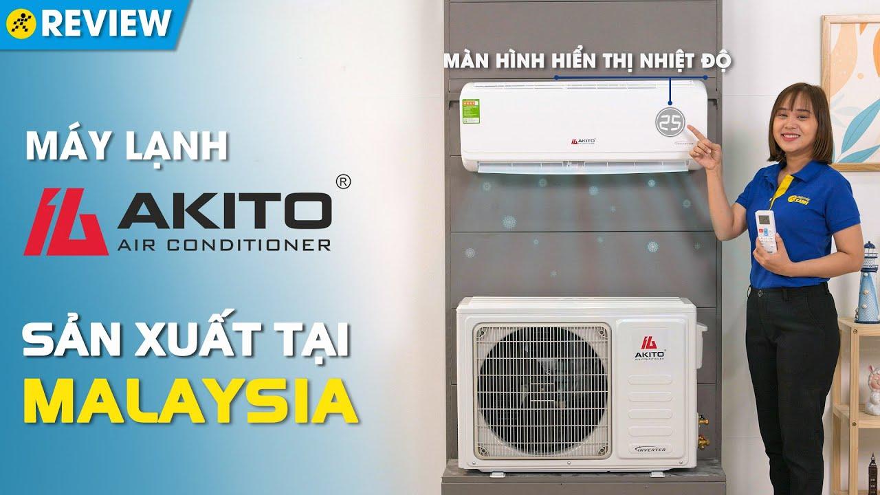 Máy lạnh Akito Inverter 1.5 HP AIC-12ST