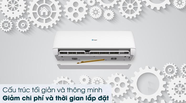 Máy lạnh 2 chiều Casper Inverter 1 HP GH-09TL32 - Lắp đặt