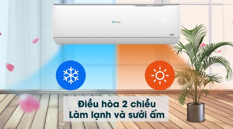 Máy lạnh 2 chiều Casper Inverter 1 HP GH-09TL32 - Làm lạnh và sưởi ấm