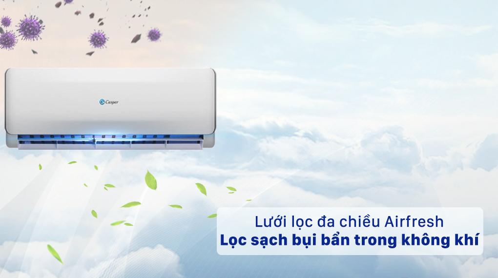Máy lạnh 2 chiều Casper 1.5 HP EH-12TL22 - Bộ lọc