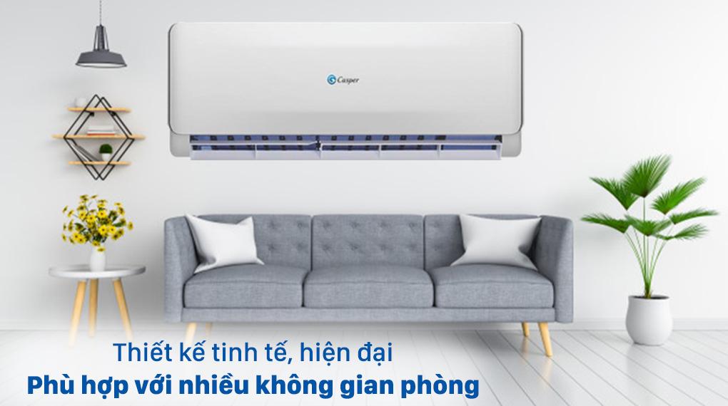 Máy lạnh 2 chiều Casper 1.5 HP EH-12TL22 - Thiết kế