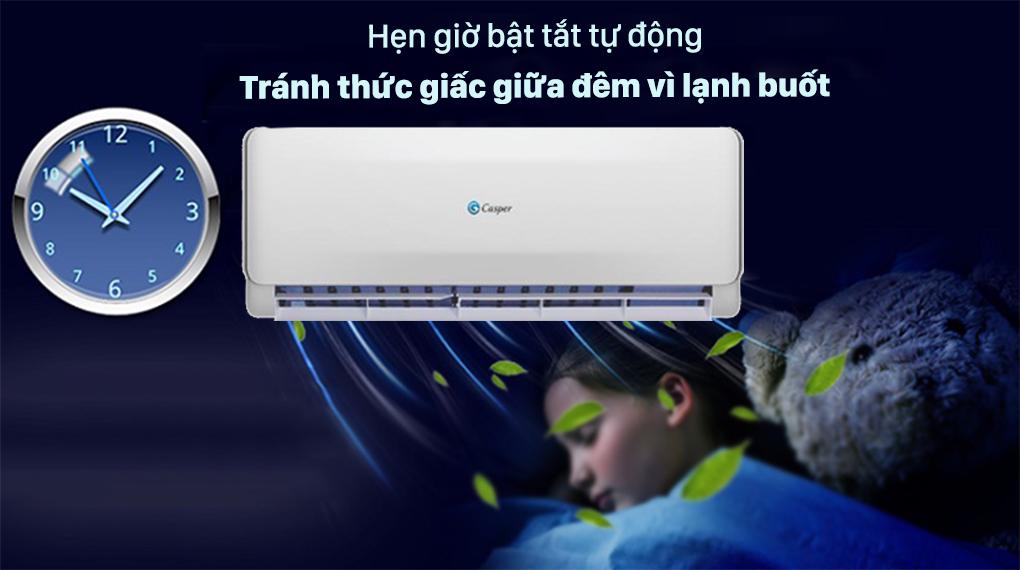 Máy lạnh 2 chiều Casper 1.5 HP EH-12TL22 - Hẹn giờ