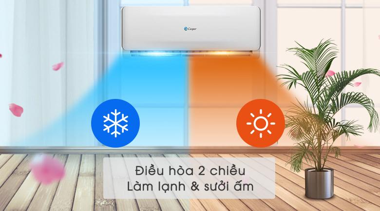Máy lạnh 2 chiều Casper 1.5 HP EH-12TL22 - 2 chiều