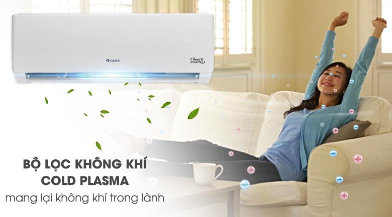 Máy lạnh Gree Inverter 2 HP GWC18PC-K3D0P4 - Công nghệ Cold Plasma vô hiệu hóa vi khuẩn