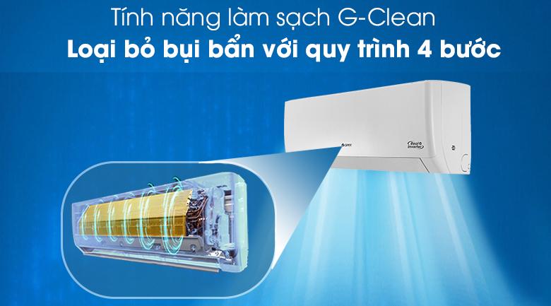 Máy lạnh Gree GWC24PD-K3D0P4 - làm sạch G-Clean