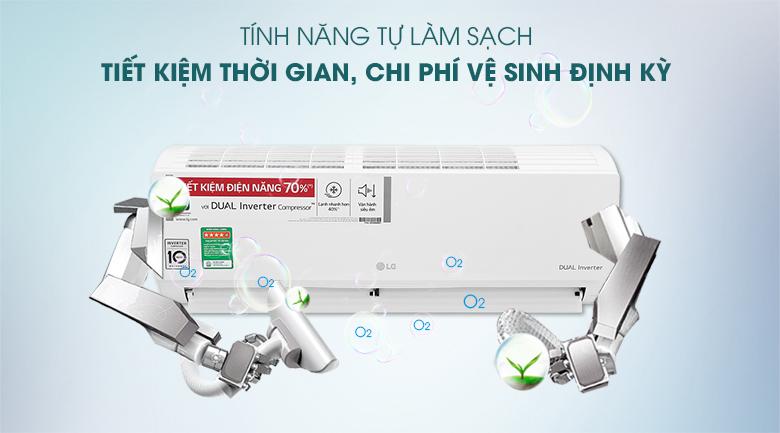 Máy lạnh LG Inverter 9200 BTU V10ENH1 - tự làm sạch
