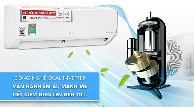 Máy lạnh LG V10ENH1 - Inverter