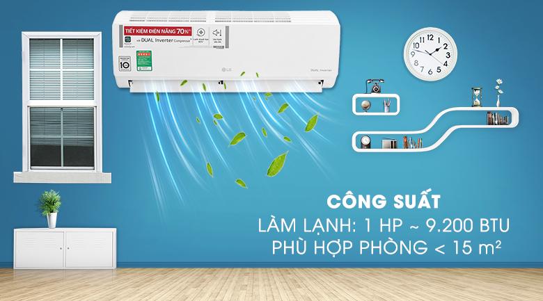 Máy lạnh LG V10ENH1 công suất