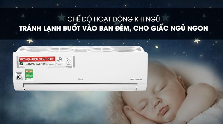 Máy lạnh LG V13ENH1 - Ngủ đêm