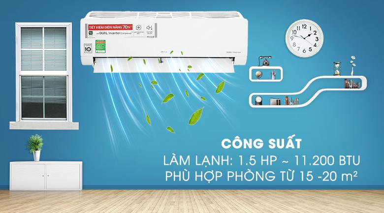 Máy lạnh LG V13ENH1 - Công suất