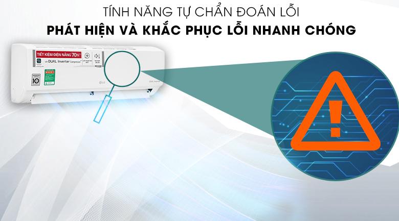 Máy lạnh LG V13ENH1 - Check lỗi