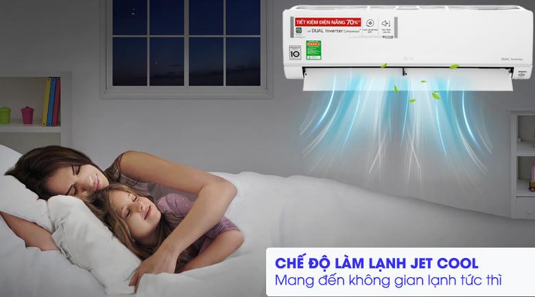 Máy lạnh LG Inverter 1 HP V10API1 - Làm lạnh nhanh