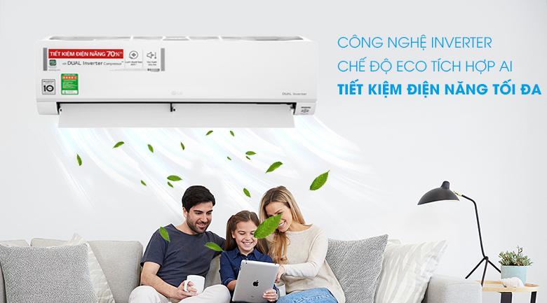 Máy lạnh LG Inverter 1 HP V10API1 - Inverter
