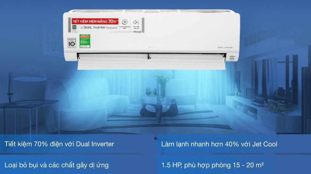 Máy lạnh LG Inverter 1.5 HP V13API1