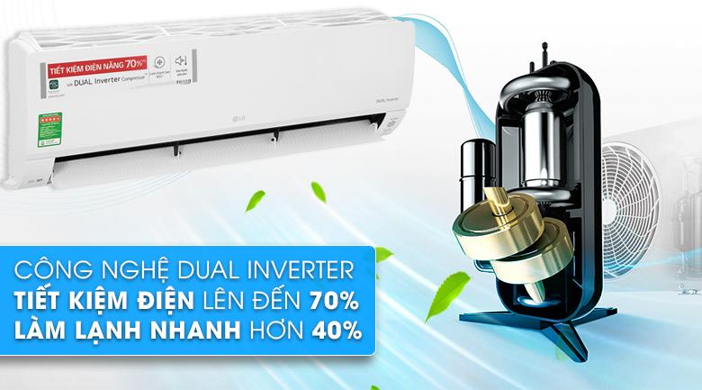 Máy lạnh LG Inverter 2 HP V18API1  - Dual Inverter