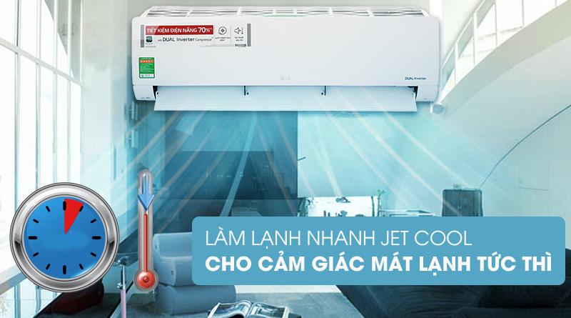 Máy lạnh LG V24ENF1 - làm lạnh nhanh