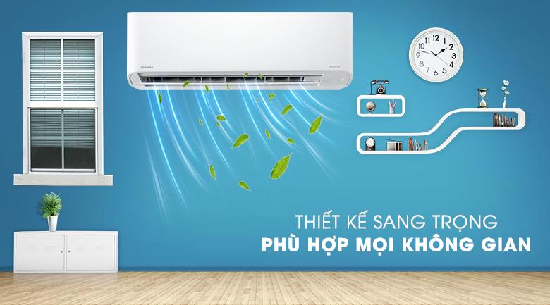 Máy lạnh Toshiba RAS-H18C3KCVG-V thiết kế