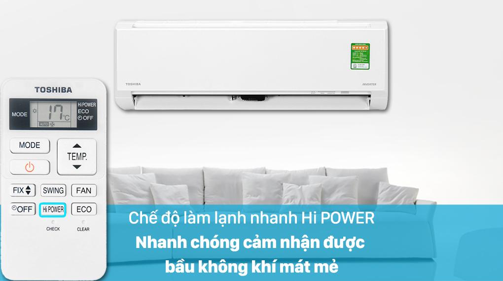Máy lạnh Toshiba RAS-H10L3KCVG-V - Hi POWER
