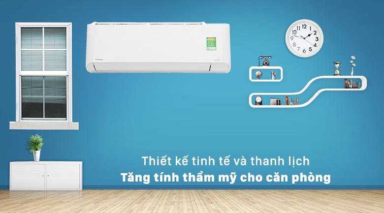 Máy lạnh Toshiba RAS-H18L3KCVG-V - thiết kế