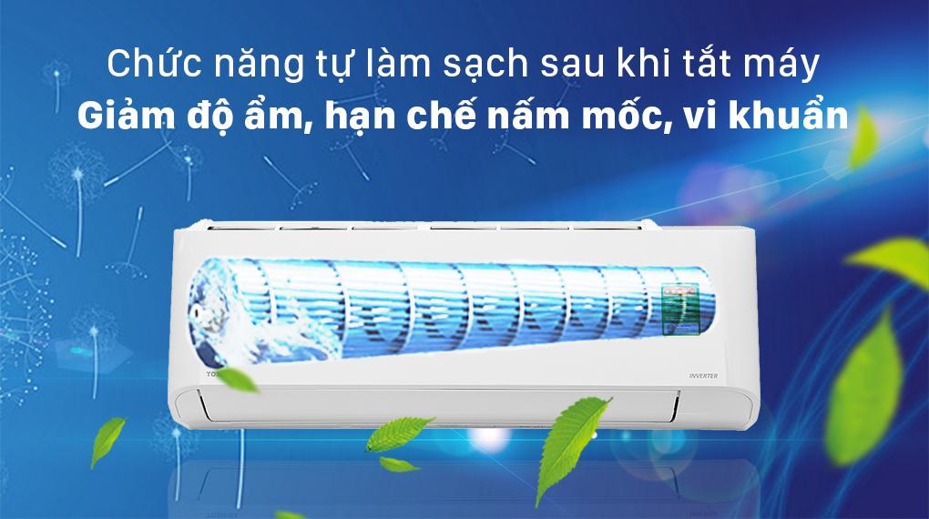 Máy lạnh Toshiba RAS-H18L3KCVG-V tự làm sạch