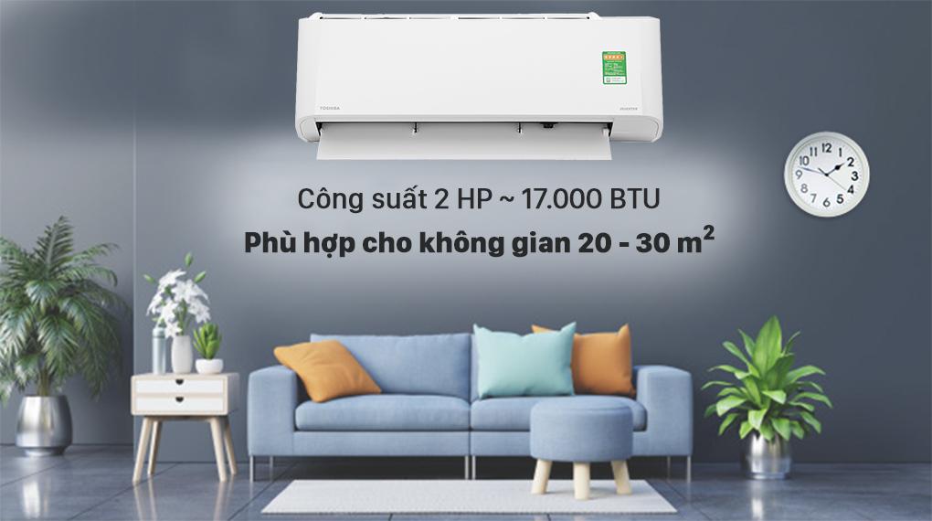 Máy lạnh Toshiba RAS-H18L3KCVG-V công suất