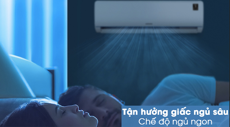 Máy lạnh Samsung Inverter 1 HP AR09TYHQASINSV - Chế độ ngủ ngon