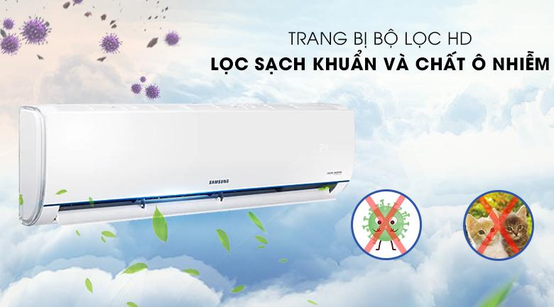 Máy lạnh Samsung AR09TYHQASINSV - trang bị bộ lọc HD lọc bụi