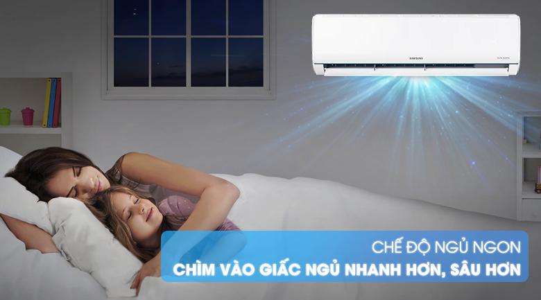 Máy lạnh Samsung AR09TYHQASINSV - có chế độ ngủ ngon