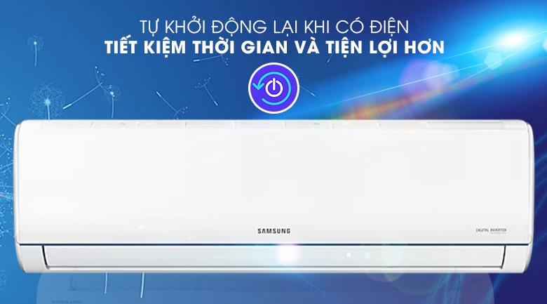 Máy lạnh Samsung AR09TYHQASINSV - Tự khởi động lại khi có điện