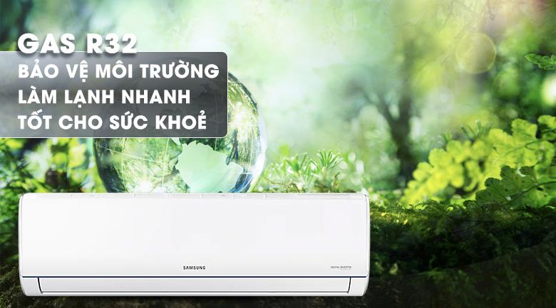 Máy lạnh Samsung AR09TYHQASINSV - sử dụng GAS R32