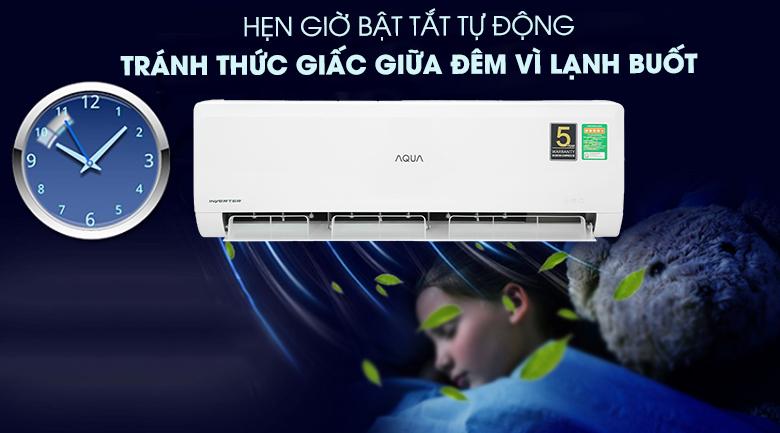 Máy lạnh Aqua AQA-KCRV13WNZA - Chế độ hẹn giờ