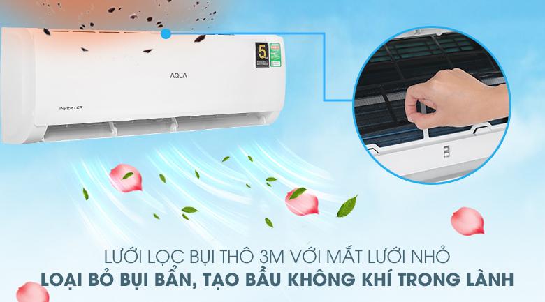 Máy lạnh Aqua AQA-KCRV13TK - màng lọc bụi