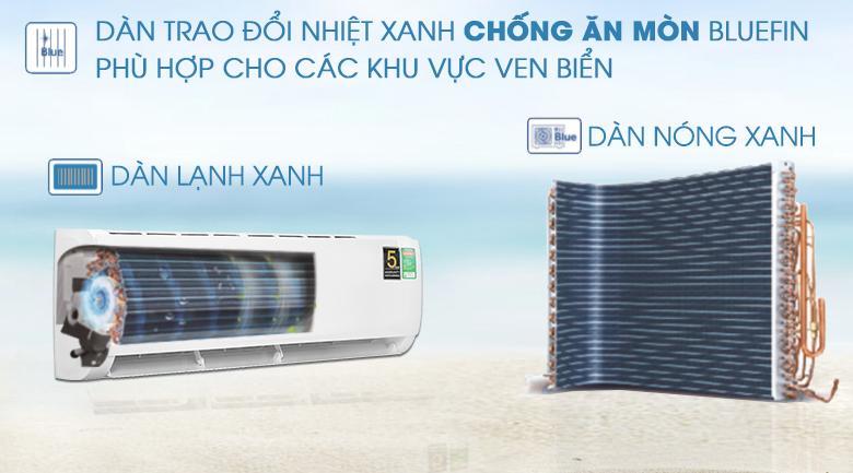 Máy lạnh Aqua AQA-KCRV13TK - Blue Fin
