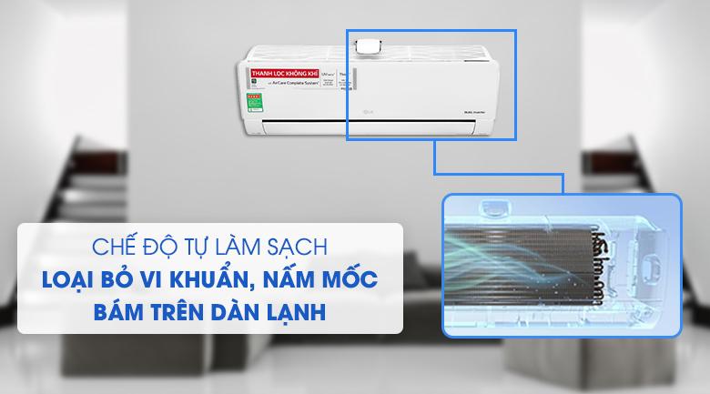 Máy lạnh LG Inverter 9200 BTU V10APFUV - Tự làm sạch