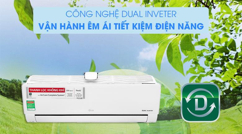 Máy lạnh LG Inverter 9200 BTU V10APFUV- công nghệ PID Inverter