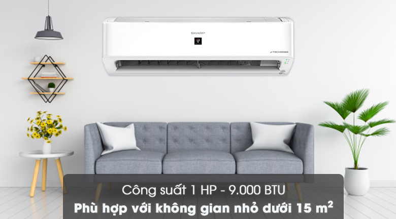 Công suất - Máy lạnh Sharp Inverter 1 HP AH-XP10YHW
