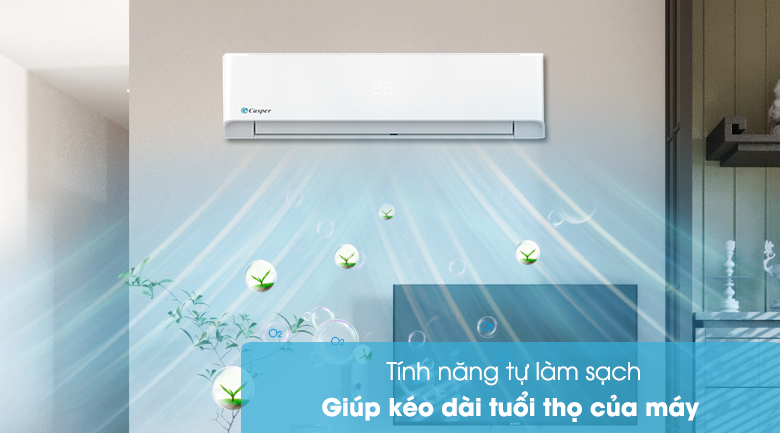 Máy lạnh Casper 1 HP LC-09FS32 - Tự làm sạch